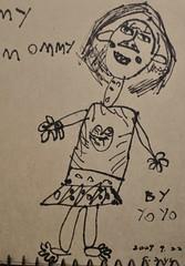 20090922-yoyo畫媽咪