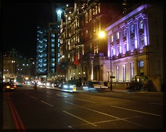knightsbridge (SaudiSoul) Tags: road uk bridge light england london night buildings united kingdom harrods knightsbridge knight lhr ln
