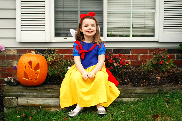 Evelyn as Snow White