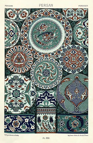 008-Ornamentos policromados persas-Das polychrome Ornament…1875