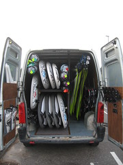 All the latest windsurfing equipment