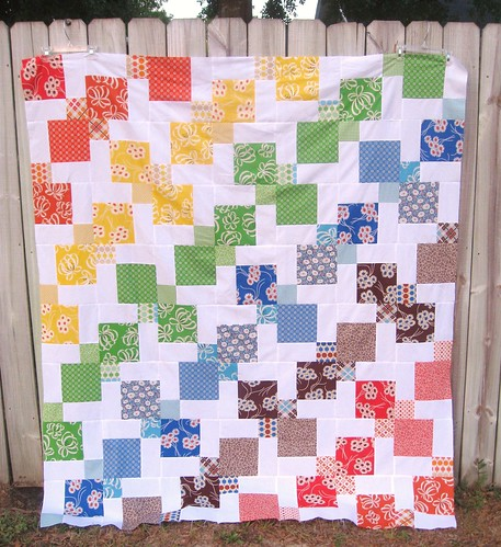 Kite quilt top complete