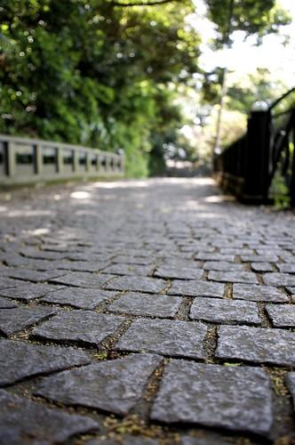 Stone pavement by keganimushi