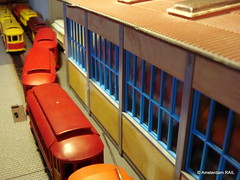 American invasion... (Amsterdam RAIL) Tags: ho 187 brill modelling modellbau hoscale tyco modelisme modelbouw modeltram modeltrams trammodel brillsemiconvertible