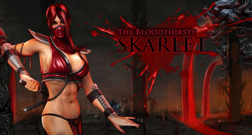 Mortal Kombat Skarlet Moves and Fatalities Guide