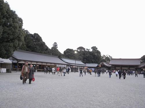 橿原神宮への初詣-05