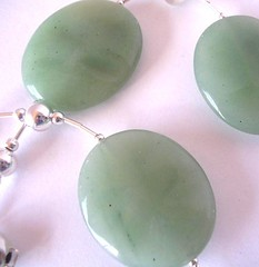 aventurine (with silver)