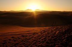 Sahara sunrise (aniagett) Tags: africa sahara sunrise sand desert morocco nikond300
