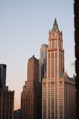 BUILDINGS GOLD STREET TRAVEL CRANE NYC SUNRISE WOOLWORTH BUILDING architecture NEW YORK CITY (moonman82) Tags: street city nyc newyorkcity travel vacation urban usa house newyork streets building home nature architecture composition sunrise buildings landscape photography design town photo construction nikon tour habit photos crane character content structure architectural formation architect frame woolworth type designs form essence build contents physique temper habitus disposition vitality temperament goldstreet newyorkcitybuilding beekmantower newyorkcitybuildings 8sprucestreet townnewyork sprucestreetproject newyorkin1850s aphotographofarchitecturalbuildingsinnyc