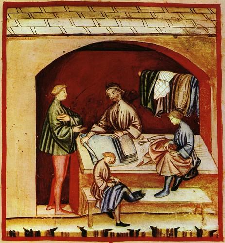 014- Prendas de vestir de seda-TACUINUM SANITATIS- Biblioteca Casanetense Ms. 4182
