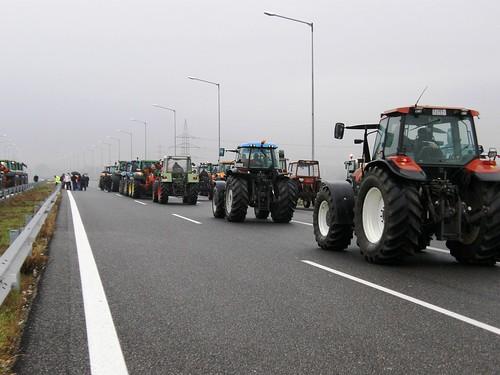 Αγροτικές κινητοποιήσεις στην Κομοτηνή