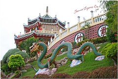 Philippine Taoist Temple - Cebu City (JoLiz) Tags: old mountain garden landscape temple interestingness flickr dragon view philippines chinese landmark historic explore cebu historical beverlyhills cebucity taoist greendragon top500 explored joliz