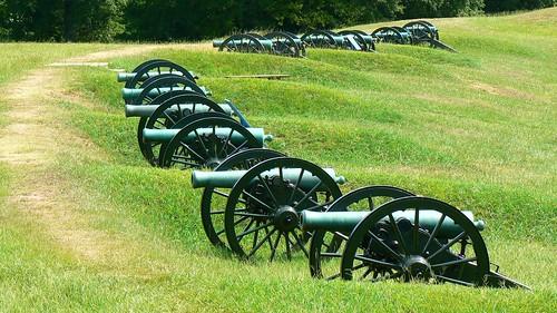 Vicksburg battleground