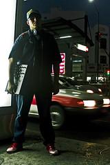 IMG_2869 (Ockesaid A.k.a ockes) Tags: mexico noche avenida calle dj joel cd taxi mixer audifonos gorra spawn federal lugo col sesion fotografo condesa metrobus distrito insurgentes ockesaid
