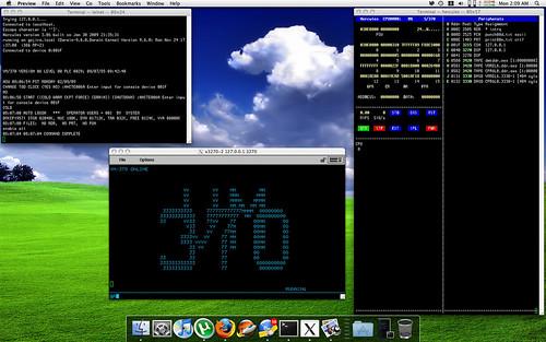 IBM VM/370 R6 on Hercules on OS X