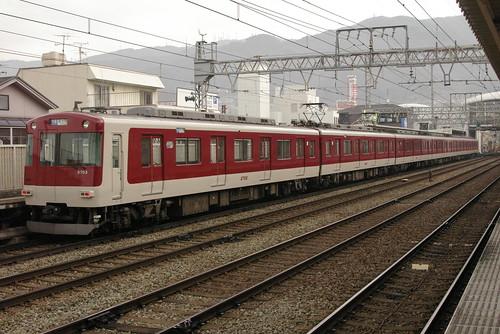 Kintetsu3220series in Hyōtan-yama,Higashi-Osaka,Osaka,Japan 2009/2/13