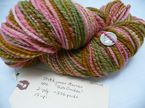 Stitchjones Merino Bulb Garden - 226 yds - 13 wpi