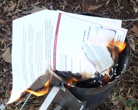 Burning DCCC Solicitation 2