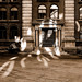 Sun Reflection On The Old Stock Exchange