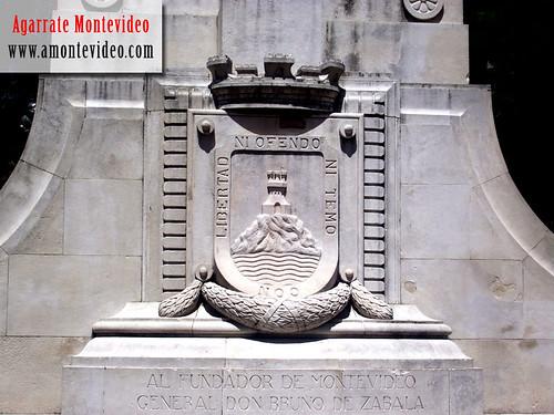 Escudo de la ciudad de Montevideo