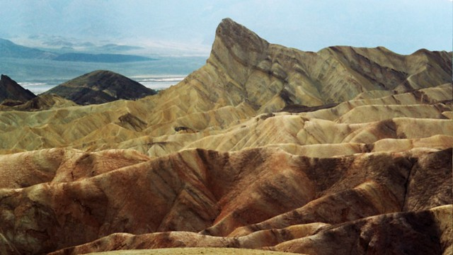 """Zabriskie Point, un paisaje """"de otro planeta""""."""
