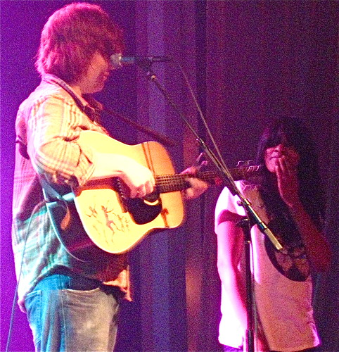 Brett Dennen and Angel Taylor in Minneapolis @ Varsity Theater 2/23/09