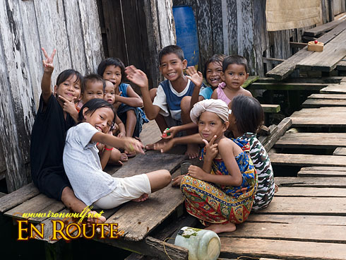 Tawi-Tawi Bajau Group Pose