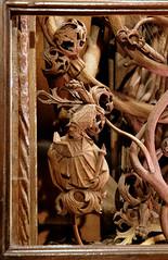 Xanten, Dom St. Victor, Marienaltar, predella, detail (groenling) Tags: wood david tree jesse buch book king cathedral dom carving altar nrw harp holz bishop rheinland solomon xanten miter bischof knig stiftskirche saintmary treeofjesse marienaltar predella jessebaum douverman victordom domstvictor mmiia