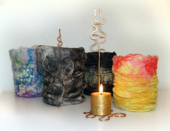 Felted stormlamps