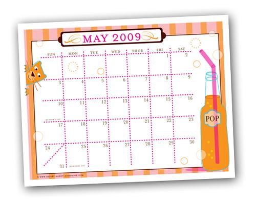May SAJ calendar