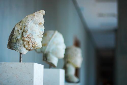 archaic acropolis - busts - 4