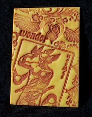 Polymer Clay ACEO Tarot Hermes