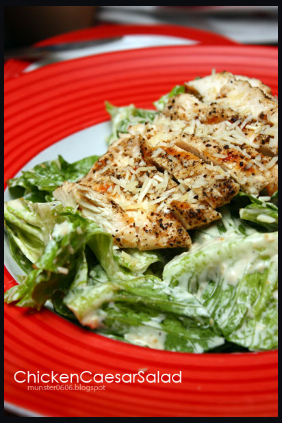 TGIF - Chicken Caesar Salad.