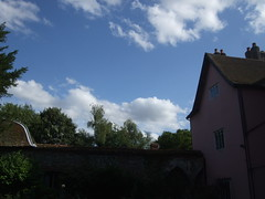 sky above the garden (whichwould) Tags: clarepriory