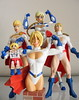 PowerGirl collection (nuo2x2) Tags: girl toys us dc power action super superman collection bust figure articulated powergirl minimates amicomi nuo2x2