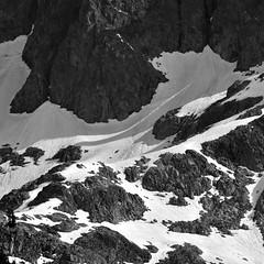 granite and ice (sheenjek) Tags: snow sierranevada minarets anseladamswilderness lakeediza