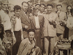 Enver Hoxha me Kim Il Sungun, vite 50. Enver Hoxha  and Northern Korean leader, Kim Il Sung, Albania, 1950s. (Only Tradition) Tags: al albania pyongyang dprk albanien shqiperi shqiperia albanija albanie shqip shqipri ppsh shqipria shqipe arnavutluk hcpa coreadelnord albani   gjuha   rpsh  rpssh   piongiang koreveriore koreeveriut     albnija