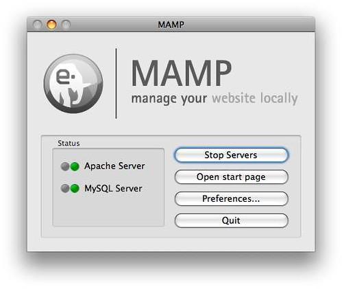 MAMP Control Centre
