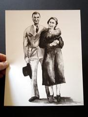 Lady Bird + Lyndon - 8 x 10 Print