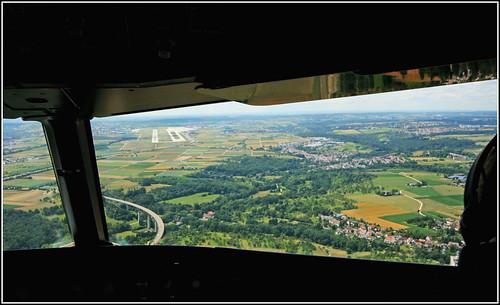 Approaching Stuttgart