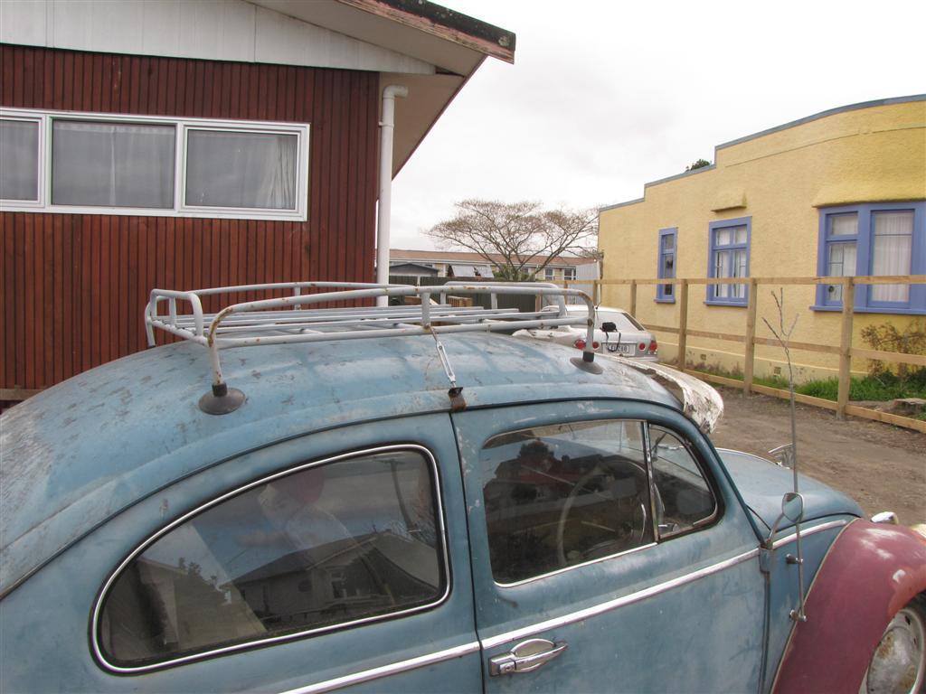 roof rack for slammed cars