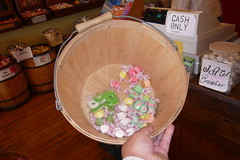 So much taffy... and some gummy rings!