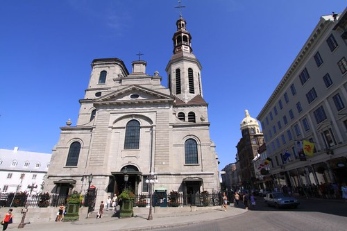 Quebec cathedral.