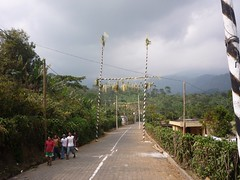 A road through rural Guatemala.