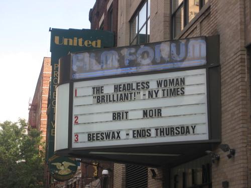 The Film Forum's Brit Noir series.