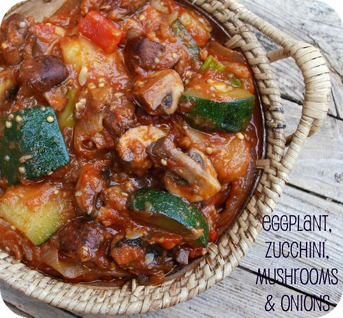 Eggplant, Zucchini, Onions & Mushrooms 2