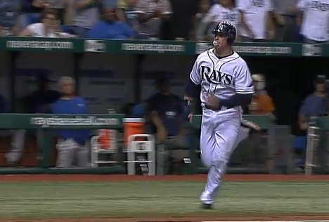 Don't Mind Evan Longoria, He Just Needs To Blow A Bubble