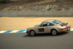 Laguna Seca (One-Speed Photography) Tags: racetrack race speed monterey track tan racing salinas porsche lagunaseca porsche911 bumberstrip
