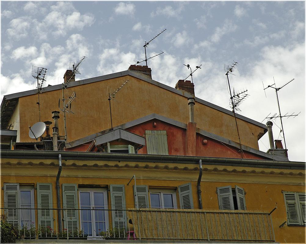 France Nice roof Франция Ницца Крыша