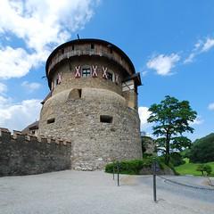 Vaduz Castle tower (The Ewan) Tags: tower castle liechtenstein stiched vaduz hugin